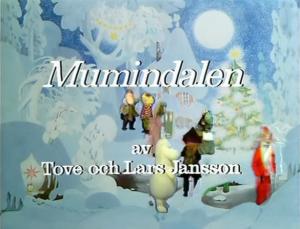 ムーミンダニの冬