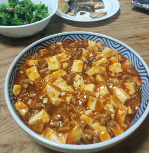 初めて市販のレトルトを超えるレベルに達した麻婆豆腐、圧倒的感謝。