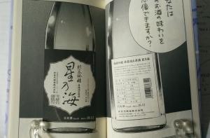 次世代酒造株式会社「星乃海 純米吟醸無濾過生原酒」(架空)