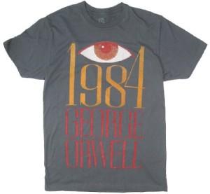 ジョージ・オーウェル『1984』(これ着ている人がいたら怖いわ)
