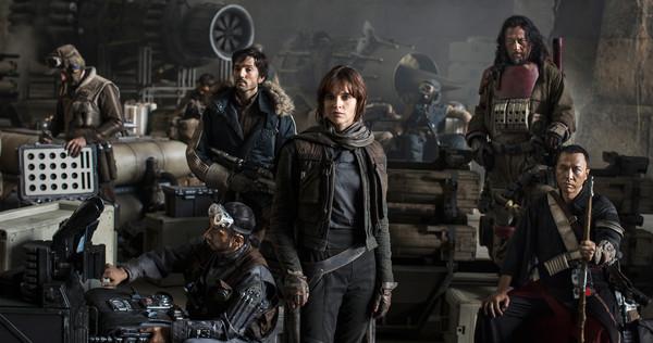 映画『Star Wars: Rogue One』の画像(MOVIEWEBより引用)