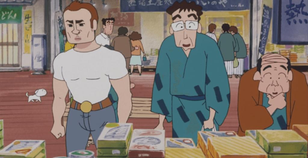 『クレヨンしんちゃん』の映画に見る擦れ違いのシーン