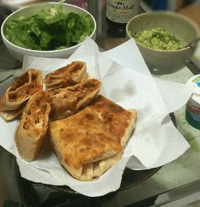 チミチャンガのレシピ